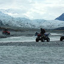 ATV glacier tours in Alaska