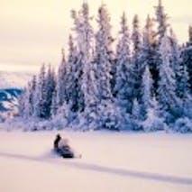 Snowmobile the Alaskan backcountry