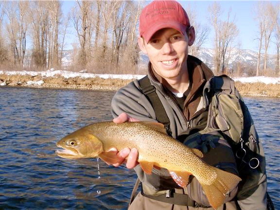 Utah Pro Fly Fishing Guide Gilbert Rowley
