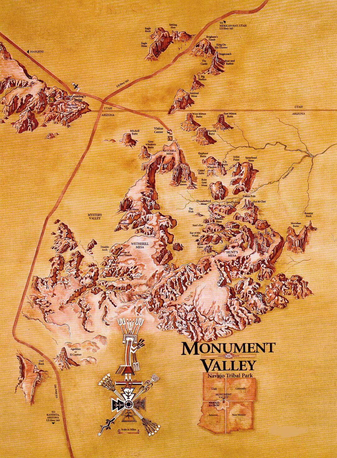 Map Of Arizona Monument Valley.Resources Monument Valley Safari