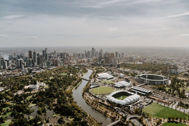 Melbourne City Orbit Tour | The Helicopter Group