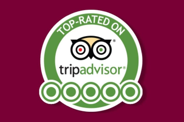 Top Rated on TripAdvisor logo