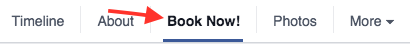 Facebook Business Direct Bookings
