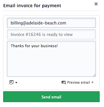 Paying Invoices With FareHarbor FareHarbor - Send invoice for payment