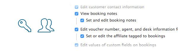 Custom user permissions