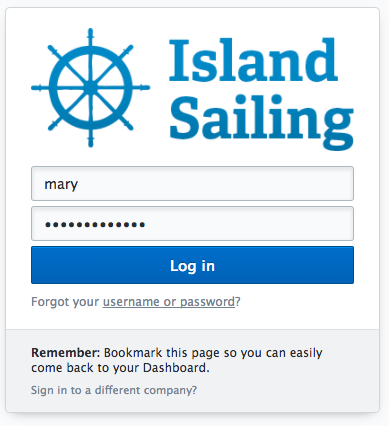 Logging into your FareHarbor Dashboard