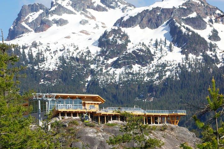mountain ski lift