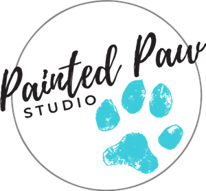 painted paw studio logo