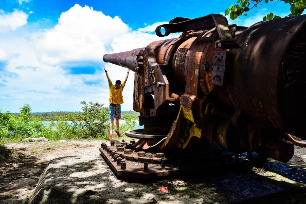 Bora Bora – hidden WWII History