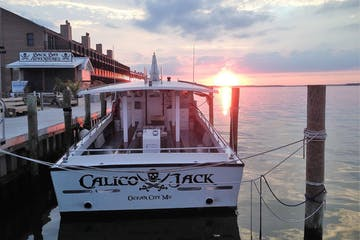 The Calico Jack ready to sail into the sunset of Ocean City