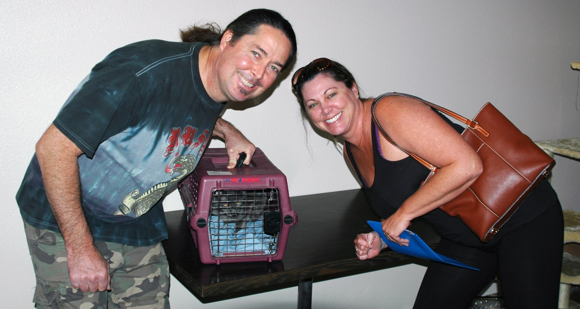 Emily Leaves The Cat Cafe for Her Forever Home