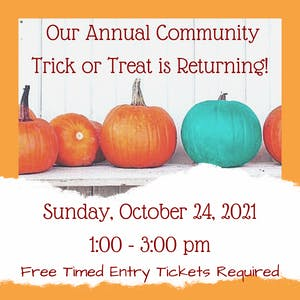Trick or Treat Sunday Oct 24