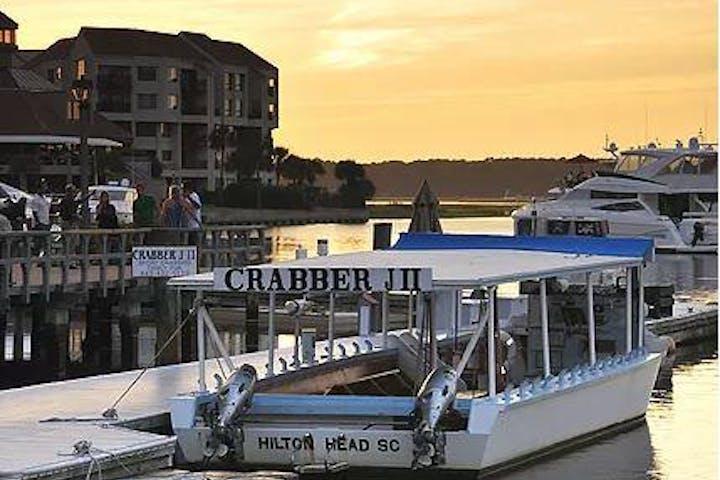 Crabber J II boat at Hilton Head