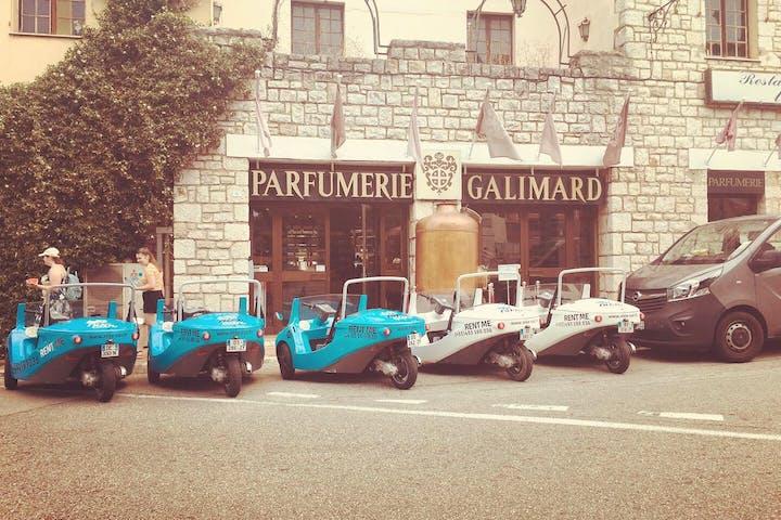 L´entrée de la Parfumerie Galimard