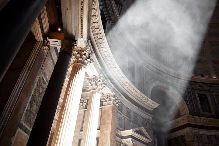 inner part of pantheon