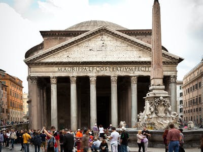 the square of pantheon