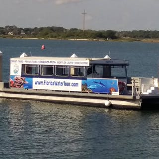 dolphin tour with Florida Water Tours in St. Audustine, FL