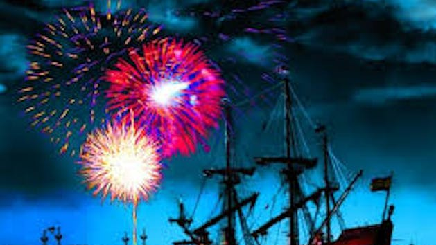 2017 4th of July St. Augustine Firework Cruise