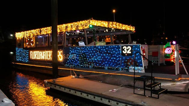 Nights Of Lights Boat Tours St Augustine Fl