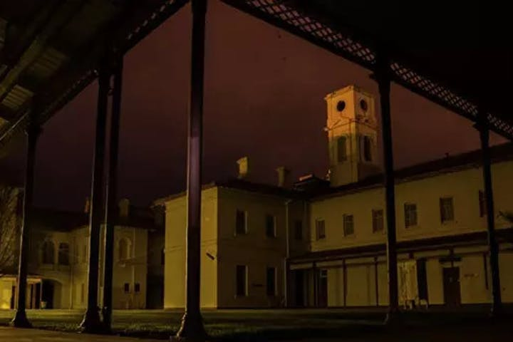 aradale mental asylum courtyard
