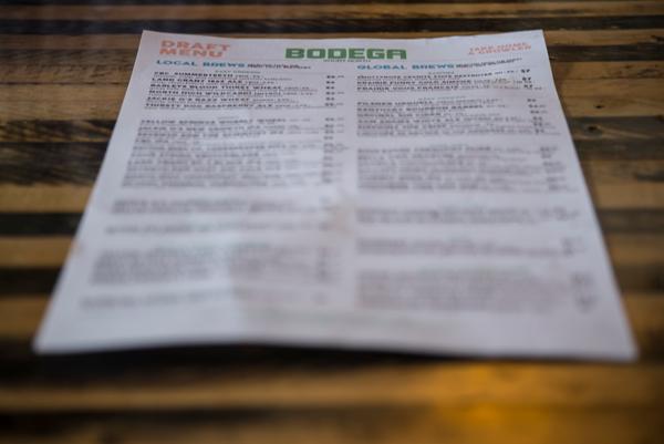 Columbus Bars Happy Hours - Bodega