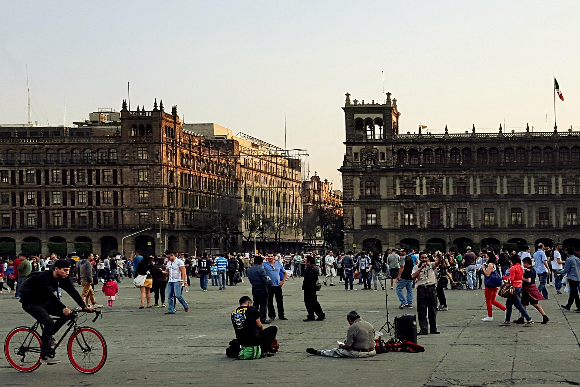 Mexico City's main square