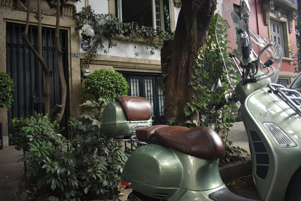 Calle en La Roma