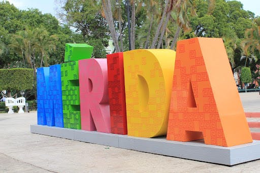 Merida City Sign