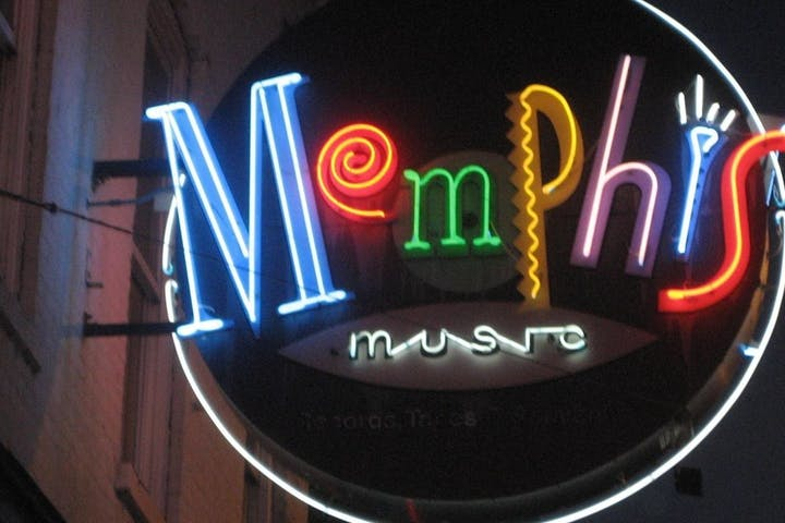 Memphis music sign