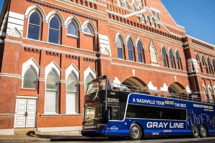 Gray Line tour bus in nashville