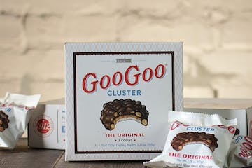 Chocolates from Goo Goo Shop and Dessert Bar in Nashville, Tennessee