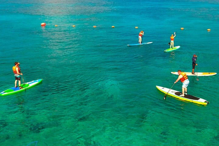 Stand Up Paddle Board & Snorkel Tour - Cozumel | Stingray Beach