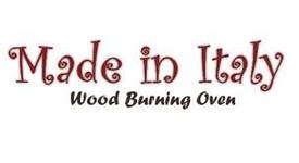 Logo for woo burning oven made in Italy