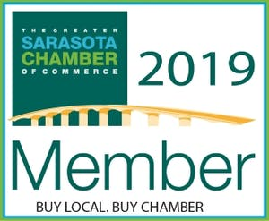 Sarasota Chamber of Commerce Seal of Membership 2019