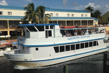 Key Largo Princess boat in harbor