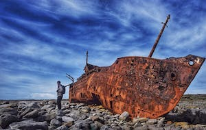 Boat on Inis Oirr