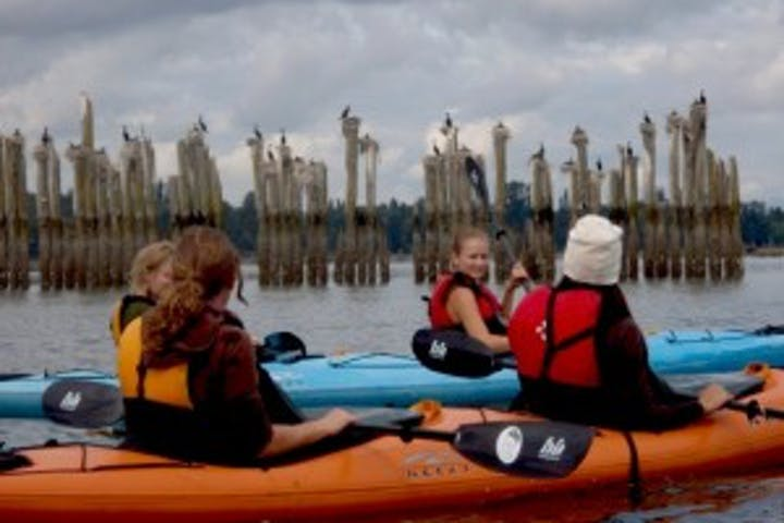 Kayakers on the Duwamish