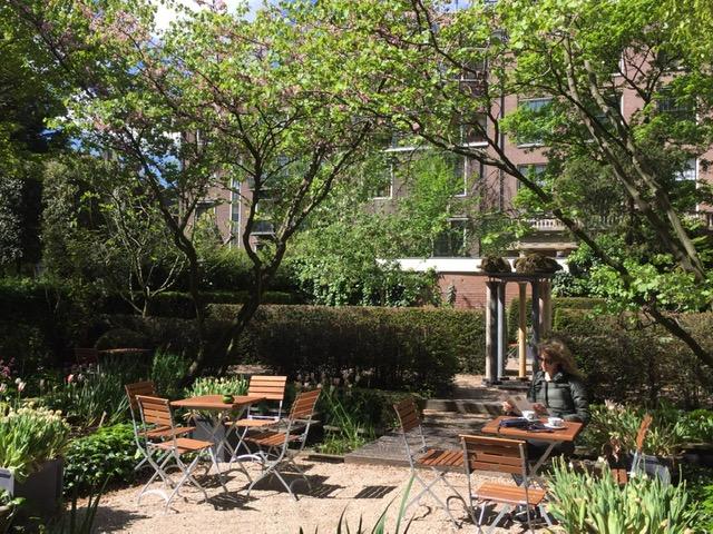 Cromhoutshuis' garden
