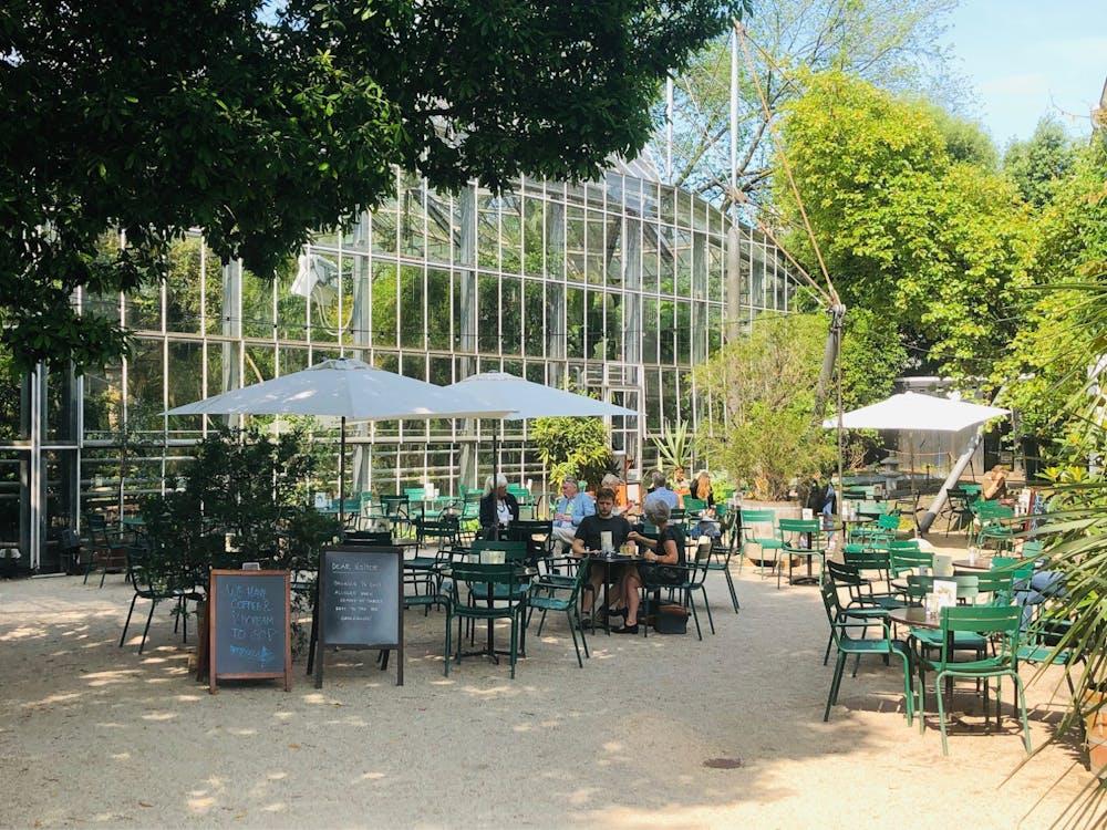 Orangery in the Hortus Botanicus
