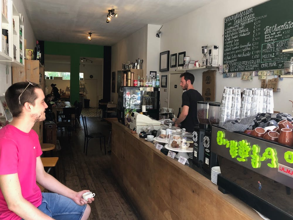 Trakteren cafe amsterdam
