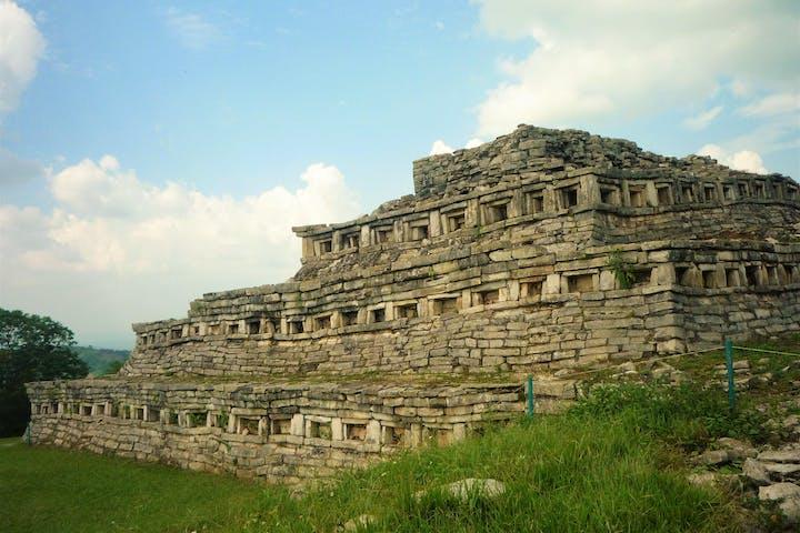 The Rough Sierra of Puebla: Cuetzalan pyramid