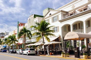 street view of a street in miami