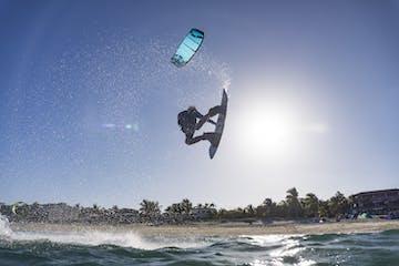 Kiteboarder