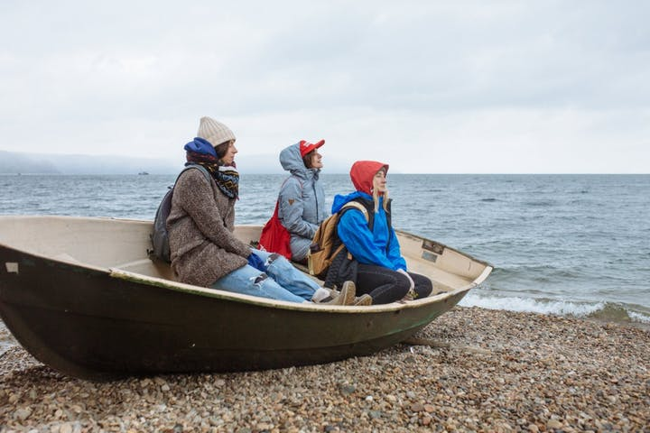Lake-Baikal-Siberia-Boat