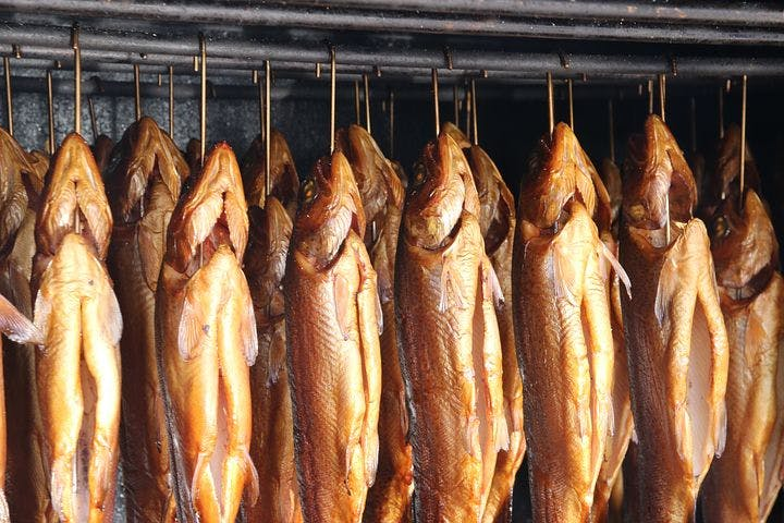 Baikal fish. It may be salted, smoked, boiled, or fried.