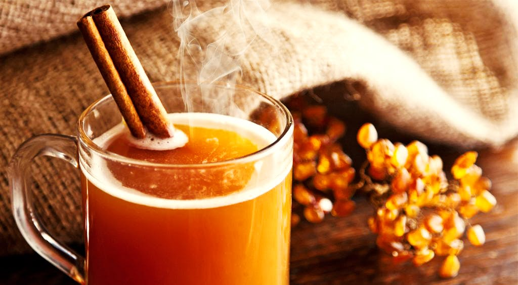A traditional hot drink based on berries with adding honey and spices. The best thing in winter time or for long walks.