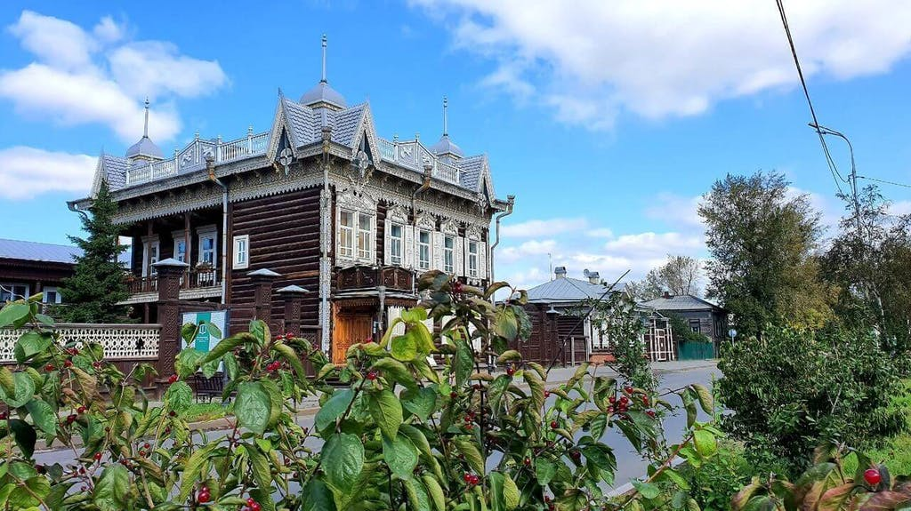 "That special ""gem"" of Irkutsk is old wooden houses."