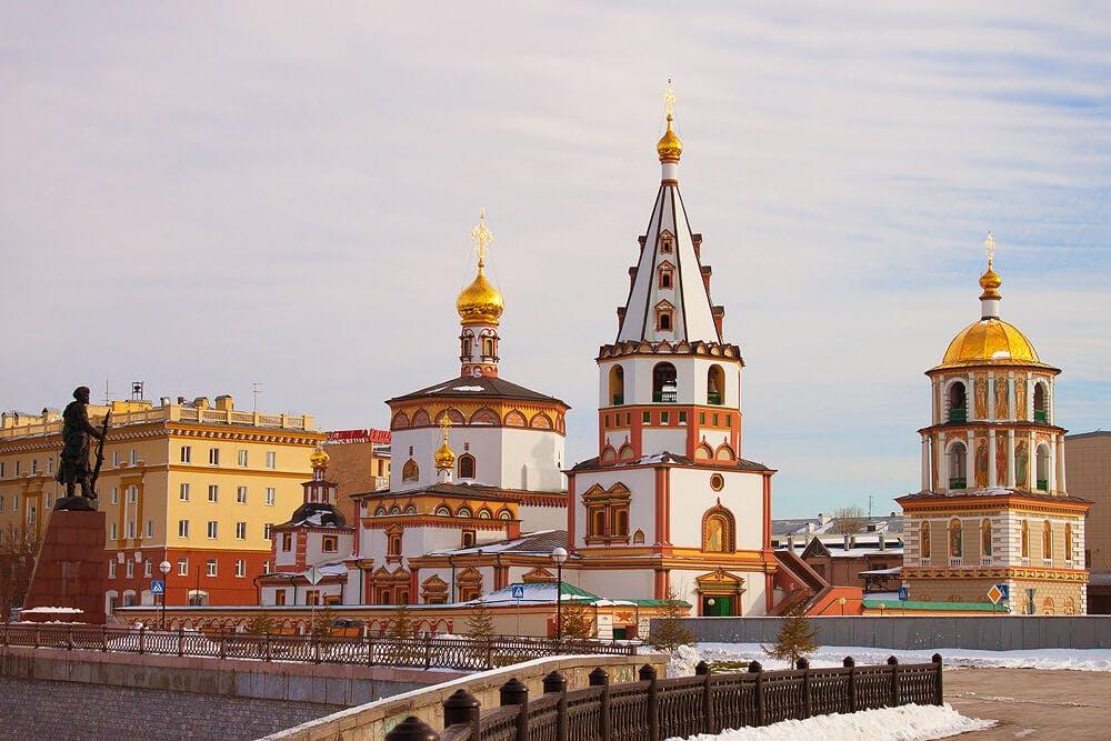 The historical center of Irkutsk