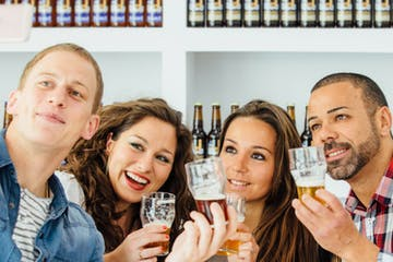 People enjoying a Craft Beer Experience