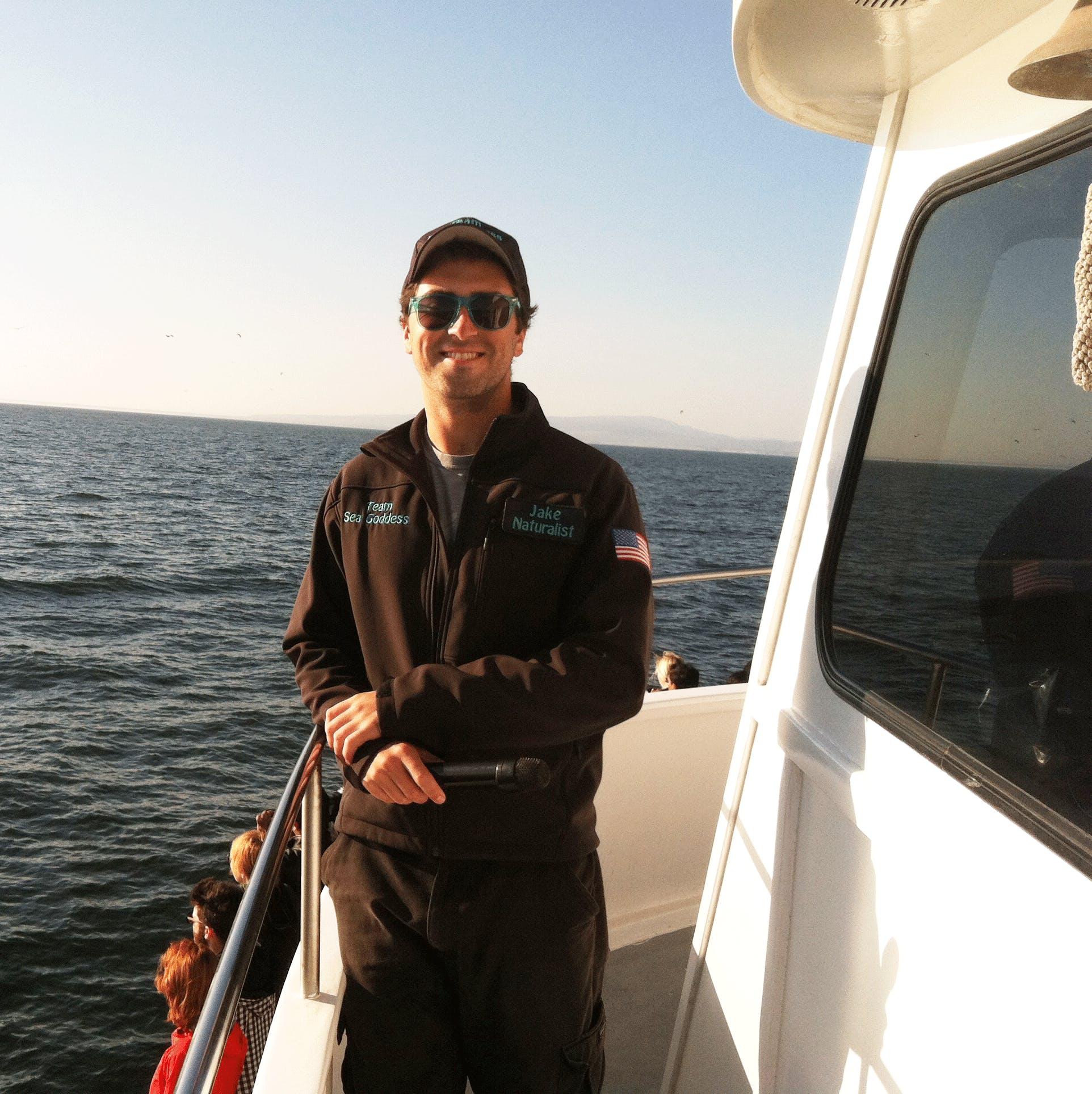 Jake Cline - Sea Goddess Whale Watching